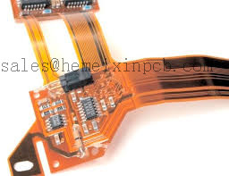 Polyimide pcb assembly