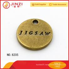 Custom metal baggage tag in Guangzhou