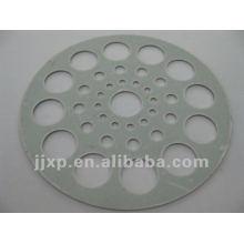 Novas peças metálicas redondas de metal para pia da cozinha e do banheiro