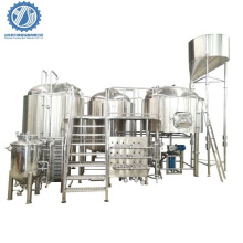 1BBL - 5BBL full automatic steam heating beer brewing equipment