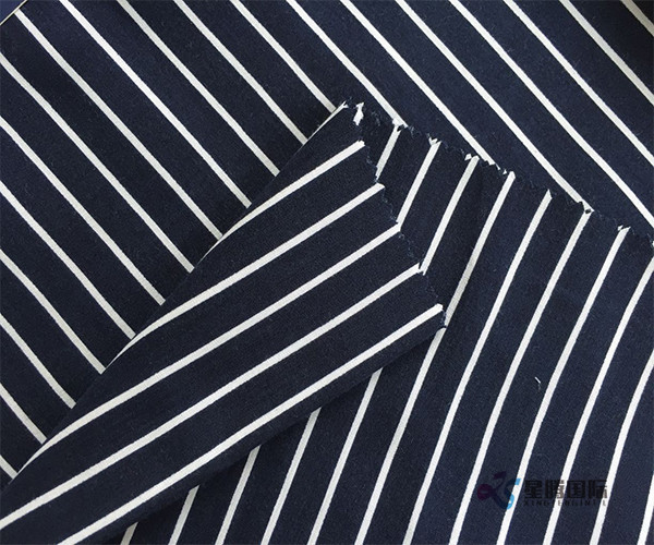 High Quality Rayon Composition Stripe Design