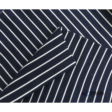 Sọc trắng in 100% vải Rayon