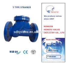 Cast Iron Water Y Strainer with flange ends