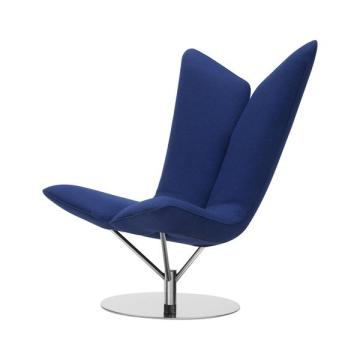 Angel chair swivel arm chair by Busk+Hertzog