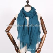 dunkle Teal Farbe Kaschmir-Schal für den Frühling