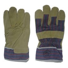 Pig Skin Palm Mechanic Work Glove