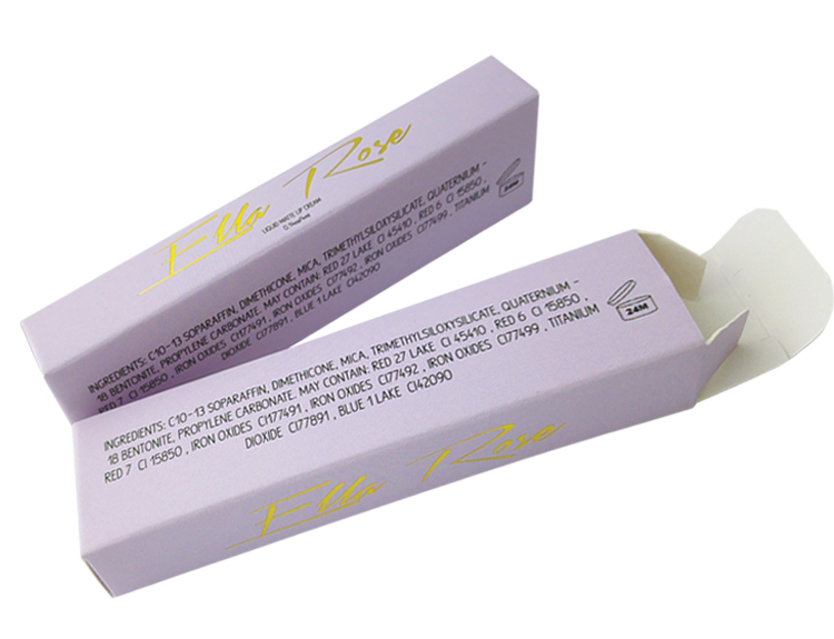 Custom Printing Lip Gloss Box