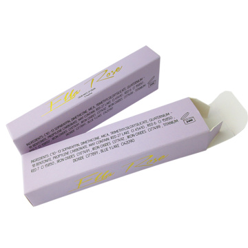 Populaire Glitter lipgloss coating Paper Box