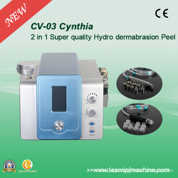 2 em 1 Facial Diamond Hydro Dermoabrasão Skin Clean Beauty Machine CV-03