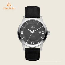 Relógios luxuosos do negócio para o relógio de aço inoxidável 72292 dos homens