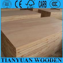 Panneau de bloc de noyau de pin de 17mm 18mm pour des meubles