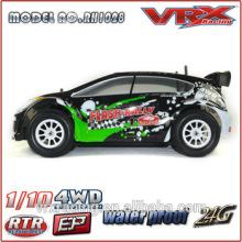 1/10ème échelle brushless Bordreuil RC modèle voiture, vitesse de course 4x4 RC voiture