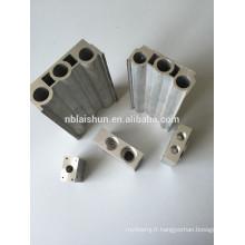 Profilés d'extrusion en aluminium personnalisés