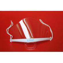 Doppelseitige Anti-Fog-transparente Kunststoff-Gesichtsmaske (MK-001)