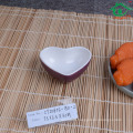 China supplier Hot Selling heart shape Sushi Dish