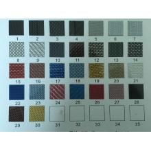 Decoración de pared de placas de fibra de carbono de colores de precisión