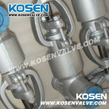 Кованые клапан глобус печать (PJ61Y - 2500LB)