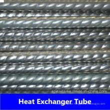304 316L Trocador de Calor Tubo Corrugado de Aço Inoxidável