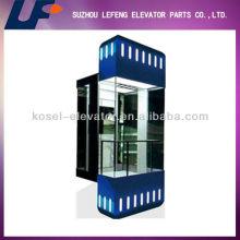 Partes del elevador