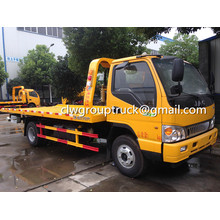 JAC Flat-bed Tow Wrecker For Sale