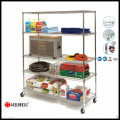 Chrome Metal Grocery Shelf for Retail Store Shelves with NSF Approval