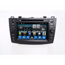 OEM factory car dvd player for Mazda 3 2010 2011 with gps navigation ,wifi function
