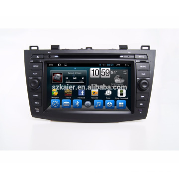 Kaier Android 7.1 Qcta core car Dvd player/car Radio DVD Player for Mazda 3 2010-2011 with Bluetooth,SWC ,TV
