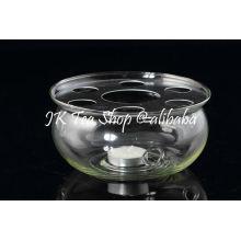 M-008 круглая форма стекла Оптовый подогреватель свечей