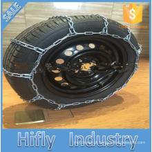 O zinco HF-1134 galvanizou a corrente de neve usada carro de corrente da neve do pneu do projeto do teste padrão da escada