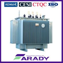 Transformador de potencia de inmersión de aceite trifásico Transformador de 1500 kVA