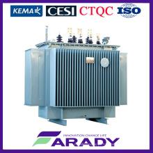 Transformador de 1500 kVA Transformador de potência imerso a 3 fases
