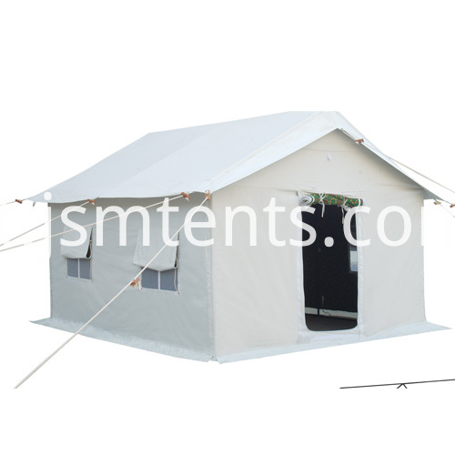 Relief refugee tent