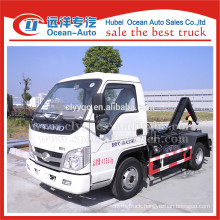 Smaller capacity of forland 3m3 garbage truck