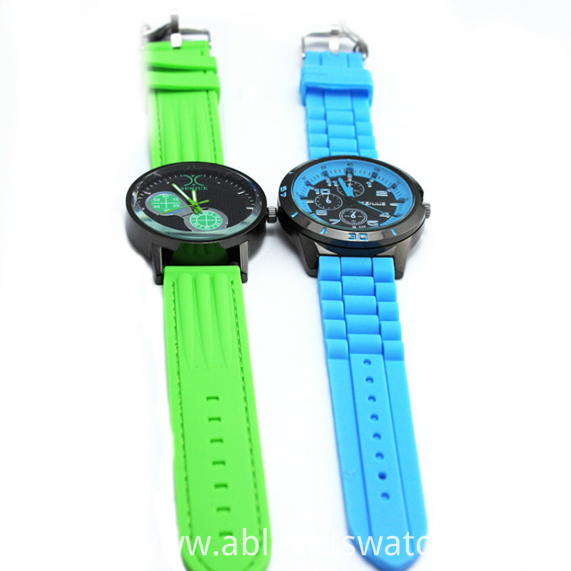 2015 hot sale silicone watch