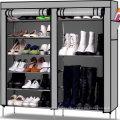 Portable Home Furniture Shoe Storage Organizer Cabinet