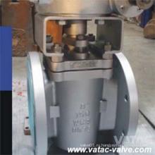 Полное оболочке PTFE запечатывания мягкой нержавеющей стали Ру16 Клапан штепсельной вилки