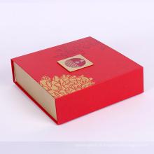 mooncake pliant boîte d'emballage en papier
