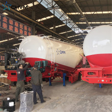 V Shape Dry Powder Bulk Cement Tank Truck