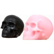 Bloodcurdling Halloween Skull Candles