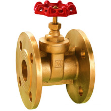 Válvula de porta flangeada de bronze, preço baixo e alta qualidade, válvula de porta J1008