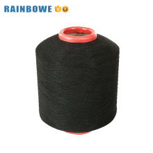 El spandex cubierto solo spandex de alta resistencia del precio solo cubierto polyester yar para el calcetín