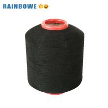Alta resistência preço barato único spandex coberto de poliéster yar para meia