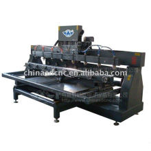 JK-4080 Wood Engraving Machine with 8 spindles