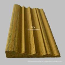 Moldagem de madeira moldada de madeira moldada
