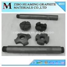 Rotor de grafito para la desgasificación de metales y aleaciones