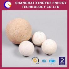 Esfera de moagem de cerâmica com alto teor de alumina a 92% para indústria e materiais para bolas refratárias