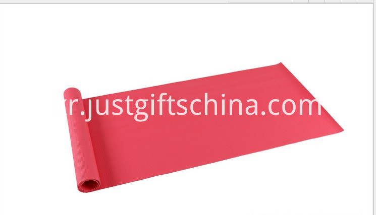 Promotional Customized Logo Yoga Mats