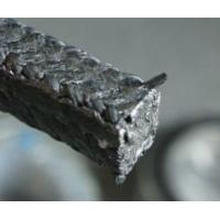 Flexible Graphite with Carbon Fiber in Corners Reinforced Braided Packing
