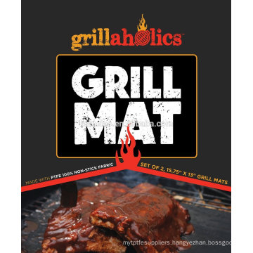 teflon fiberglass fabric used as BBQ GRILL MAT as seen on TV