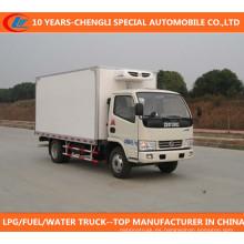 Camión refrigerador 4X2 Camión congelador Dongfeng Camión Dongfeng refrigerado